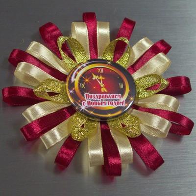 Медаль из ленты мастер класс